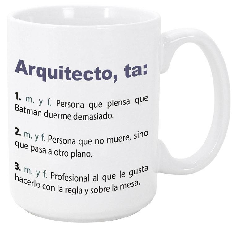 taza para arquitecto